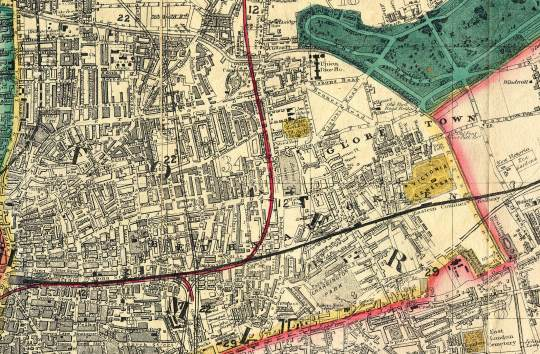 bethnal green map